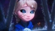 可爱小宝贝一觉醒来变成了冰雪公主艾莎