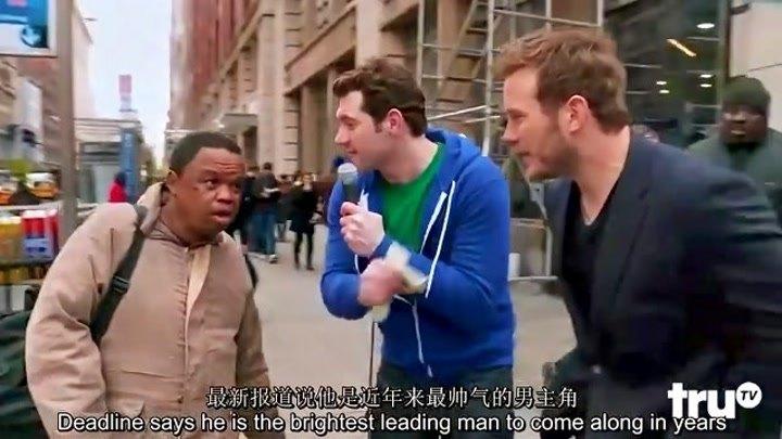 """【中字】比利街訪之你識得""""星爵""""克里斯·帕拉特嗎?@阿爾法小分隊"""