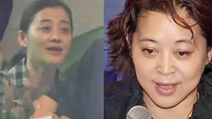 44歲梅婷現身拍戲打扮樸素老態明顯撞臉60歲倪萍